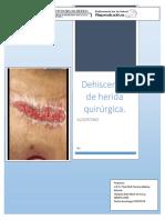 Algoritmo Dehiscencia de Herida Quirúrgica