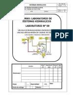 Lab 09 - Válvula Reguladora de Caudal - 2016.2