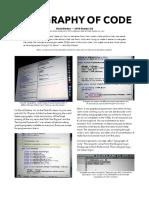 David Durkee - Typography of Code (2010)