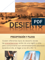 Exposicion Ciencias Desierto