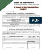 Programacion Administracion Logistica