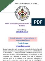 Ortega 2016 Limit Es