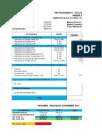 Provision Facturacion ELSE Mes Noviembre 2012