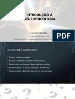 Introdução à Neuropsicologia