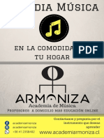 Academia Armoniza Poster Colegio