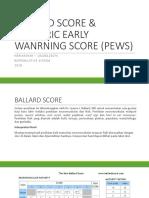 Ballard Score & Pews - Rps 5 Day 2