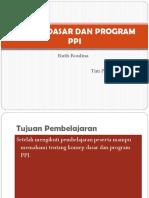 Konsep Dasar Dan Program Ppi