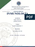 Inmunología Informe Completo