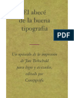 Jan Tschichold El abecé de la buena tipografía  .pdf