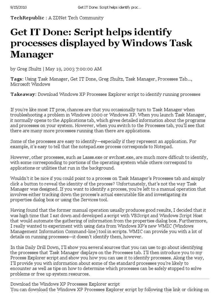 Permanently set and save process priority in windows task manager.
