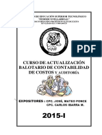 Balotario Seminario 2015 Villarreal