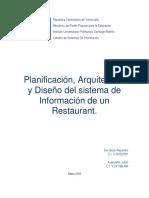 Proyecto de Restaurant (Sistemas de Informacion)