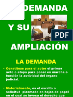 3 La Demanda y Su Ampliacion