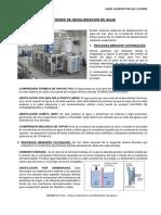 Sistemas de Desalinización de Agua
