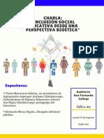 Afiche Inclusión