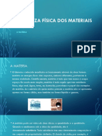 1- Natureza Física Dos Materiais