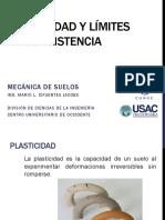 2. Plasticidad Limite Liquido