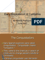 Early Exploration of California