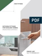 Kitchen Fittings Price List