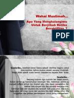 Wahai Muslimah