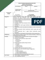 Sop Analisis Insiden Keselamatan Pasien (Ikp) Analisis Akar Masalah
