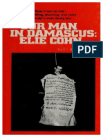Our Man in Damascus Elie Cohn