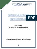 EXPLORACION EXTRAORAL