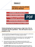 Module 4 - Hydraulic Calculation
