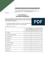 Seasona Pattern Assessment Questionnaire