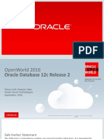Oracle Database 12cR2 New Features