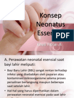 Konsep Neonatus Essensial