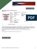 Nonimmigrant Visa - Confirmation Page
