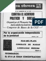 Política Obrera no. 115