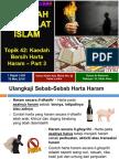 Topik 42 - Kaedah Bersih Harta Haram - Part 3
