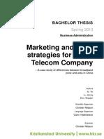 Pricing China Telecom