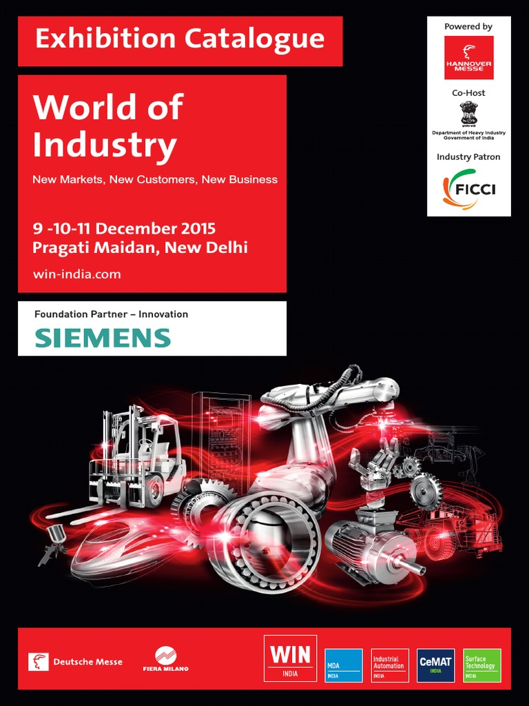 WIN INDIA 2015_Exhibion Catalogue | Industries | Manufacturing And
