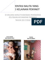 Dokumentasi Balita Yang Memiliki Kelainan Penyakit