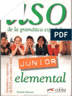 Uso Junior de La Gramática Española