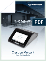 Crestron Mercury Brochure 2017