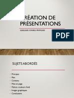 UE2 Conseils Présentation 2016-2017