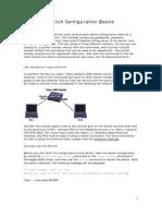 Switch Configuration Basics