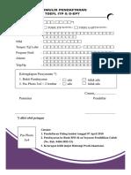 Formulir Pendaftaran TOEFL Akuntansi Akuntansi Unigal Ac Id