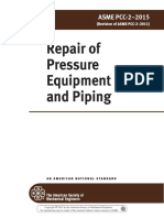 ASME PCC-2-2015 Repair of Pressure