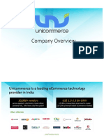 Unicommerce - Company Overview - Updated - ERP