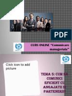 Comunicare Manageriala.tema 5