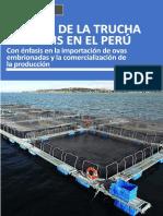 Desenvolvimiento Importación Ovas Trucha 2011 2016