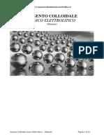 Manuale Argento Colloidale Ionico Elettrolitico