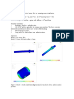 Bushing FEA Analysis