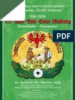 Ladschreiben Tiroler Gedenkschießen 2018