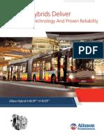 ALLISON Hybrid Bus Brochure